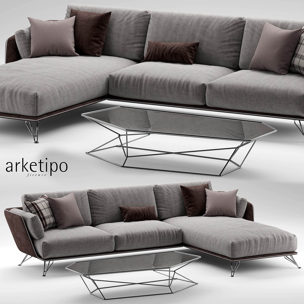 Arketipo Morrison Sofa 2 3d Model For Download Cgsouq Com