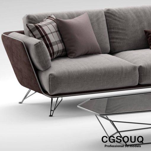 Arketipo morrison sofa 2 3D model 01 (5)