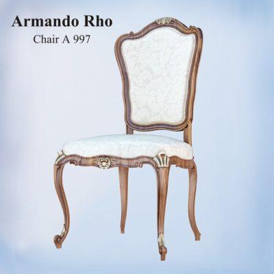 Armando Rho A997 Chair 3D Model