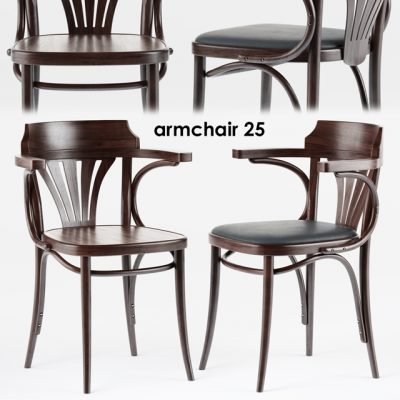 Armchair Set-25 3D Model