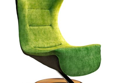 Armchair with decor 6 4