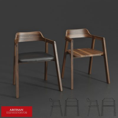 Artisan Bura Chair 3D Model