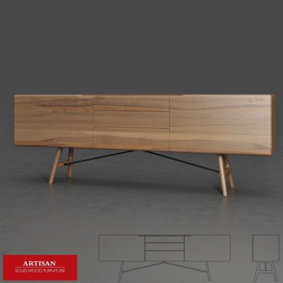Artisan Tesa Sideboard 3D Model