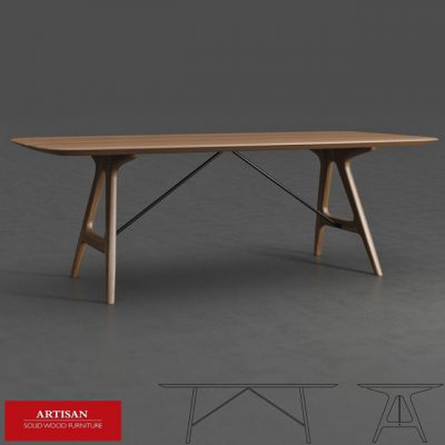 Artisan Tesa Table 3D Model