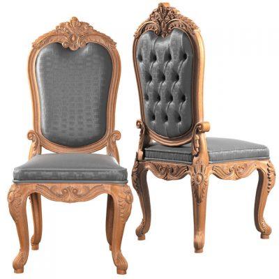 Asnaghi Interiors LA Boutique Chair 3D Model