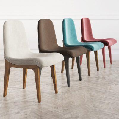 Aubrey Dinning Chair 3D Model