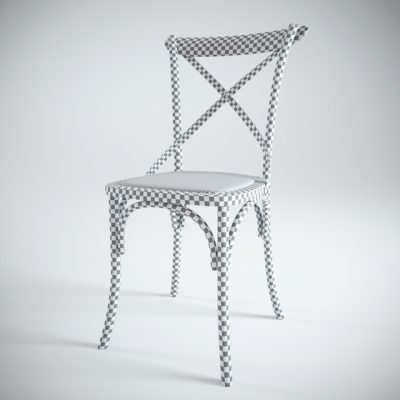 Averso Braun Chair 3D Model