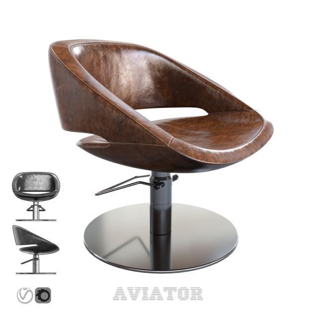 Aviator Armchair 3D Model