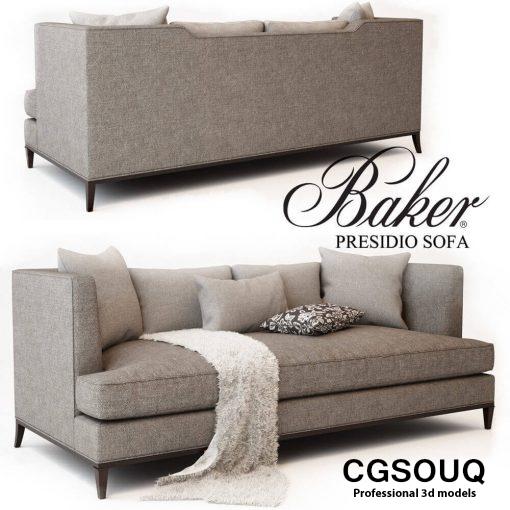 BAKER PRESIDIO SOFA (5)