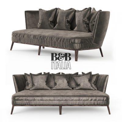 B&B Febo 2803 BLT Sofa 3D Model