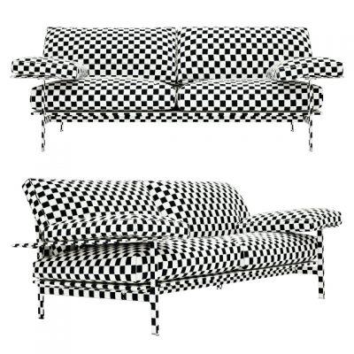 B&B Italia Diesis Sofa 3D Model