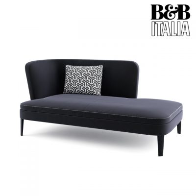 B&B Italia Febo Lounge Chaise 3D Model