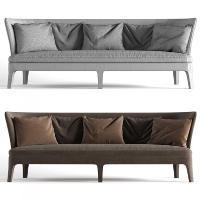 B&B Italia Febo Sofa 3D Model 3