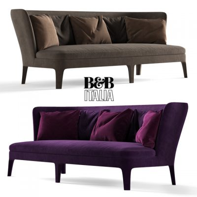 B&B Italia Febo Sofa 3D Model