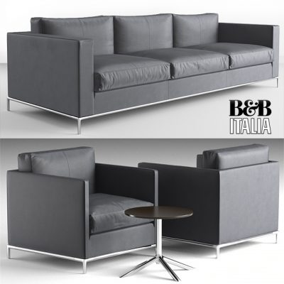 B&B Italia George Sofa 3D Model
