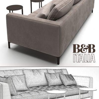 B&B Italia Lucrezia Sofa 3D Model 3