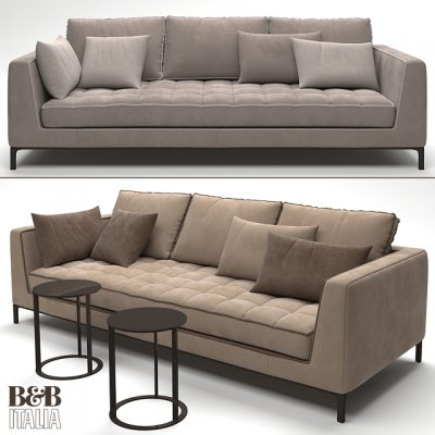 B&B Italia Lucrezia Sofa 3D Model
