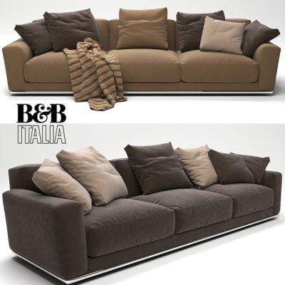 B&B Italia Luis Sofa 3D Model