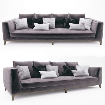 B&B Italia Lutetia Sofa 3D Model