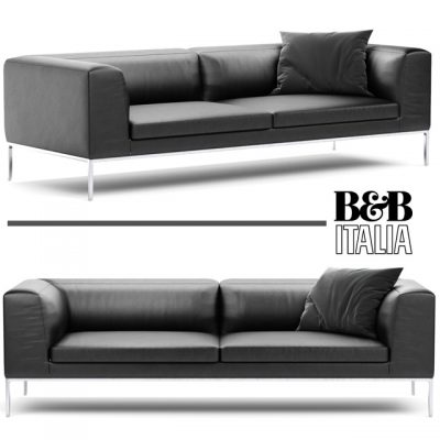 B&B Italia Michel Simple Sofa 3D Model