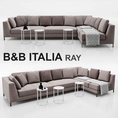 B&B Italia Ray Sofa 3D Model