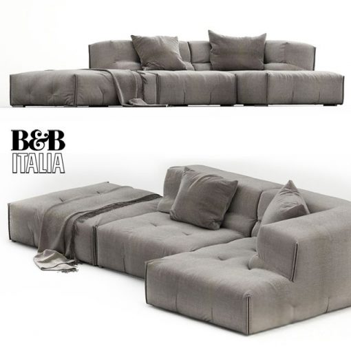 B&B Italia Tufty-Too Sofa Set-01 3D Model