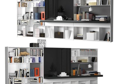 B&B MAXALTO 4 Bookcase 3D model (5)