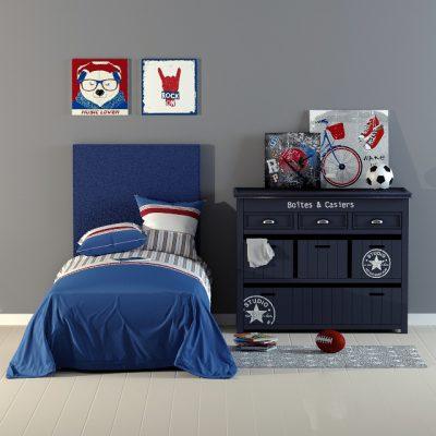 bed art