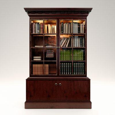 Baker Drobe Cabinet 3D Model