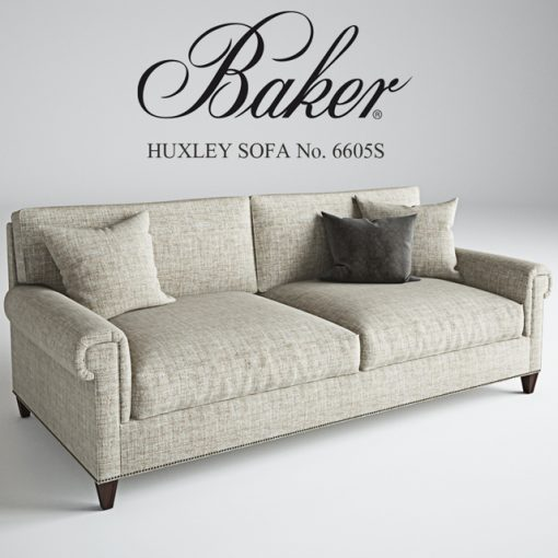 Baker Huxley Sofa 3D Model