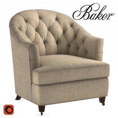 Baker Windsor Armchair 3D Model