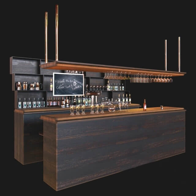 Bar N Coffee Shop 3d Model For Download Cgsouq Com