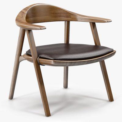 Bassam Fellows Mantis Lounge Chair 3D Model