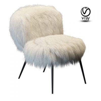 Baxter Nepal Chair 3D Model