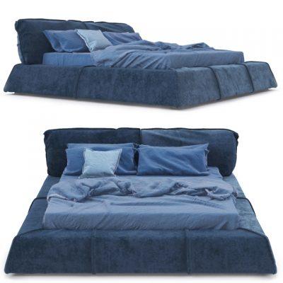 Baxter Paris Bed 3D Model