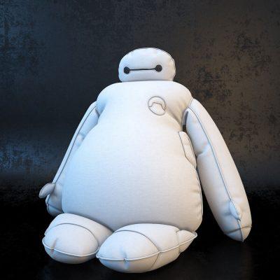 Cartoon Character Baymax 3D model