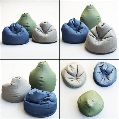 Bean Bag Esprit 3D Model