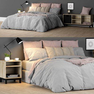 Bed-01 3D Model