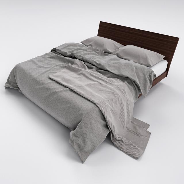 Bed-10 3D Model 2
