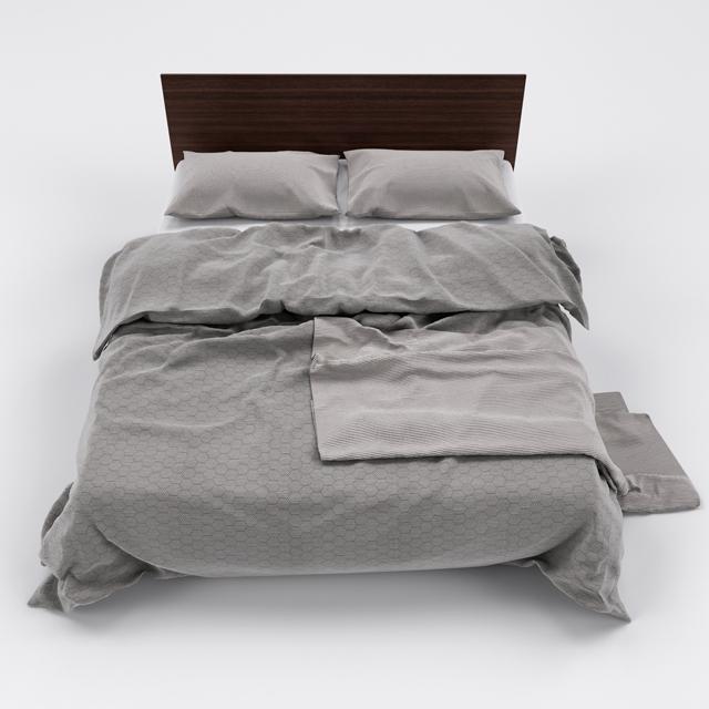 Bed-10 3D Model