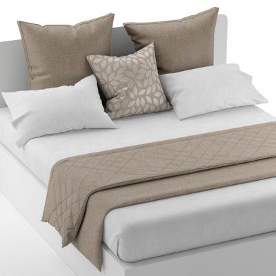 Bed Clothes-2 3D Model