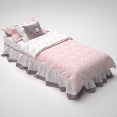 Bed Clothes-5 3D Model