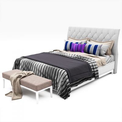 Bed Collection-01 3D Model