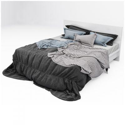 Bed Set-10 3D Model