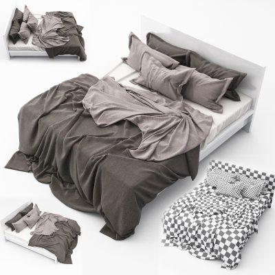 Bed Set-13 3D Model