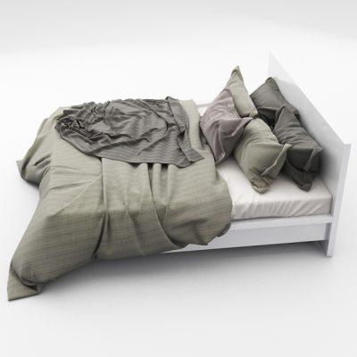 Bed Set-14 3D Model