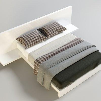 Bed Set-7 3D Model