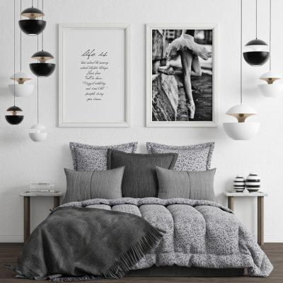 Bedroom Set-3 3D Model