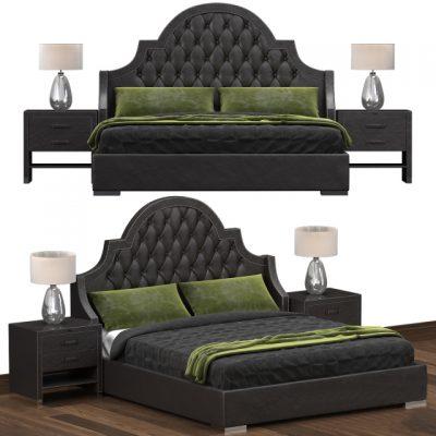 Belle Bed 3D Model