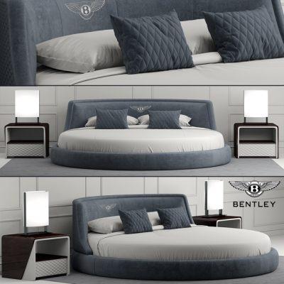 Bentley Avebury Bed 3D Model
